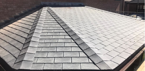conservatory roofing in Knowlhill