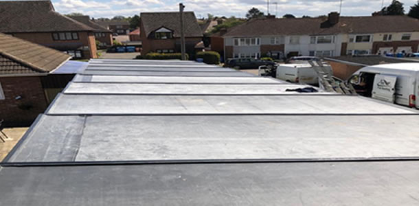 garage roofing in Knowlhill