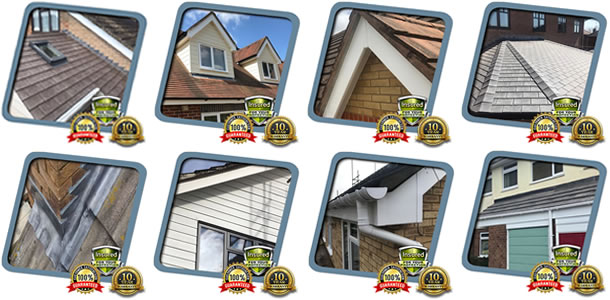 roofing repairs in Knowlhill